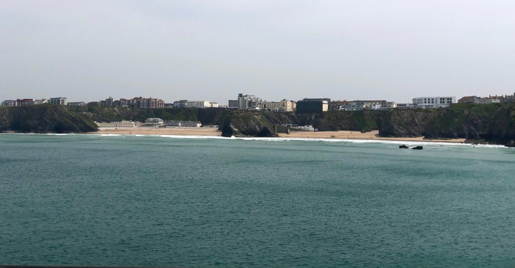 Overlooking Newquay from  Huer's Hut