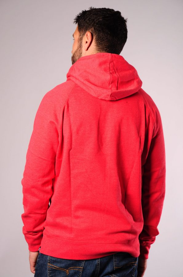 embroidered hood red-b