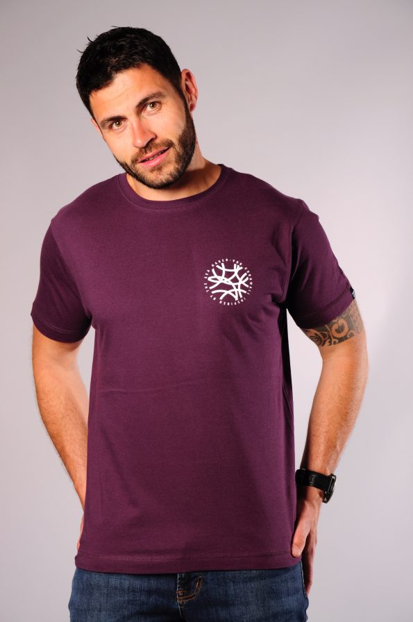 flow tee purple-f
