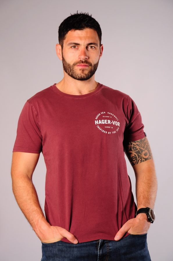godrevy tee red-f