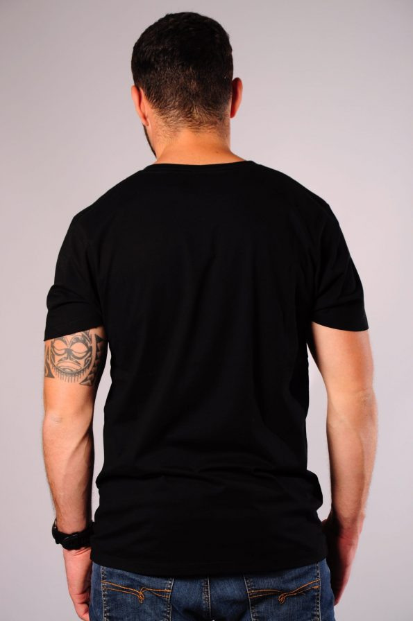 splash camo tee black-b